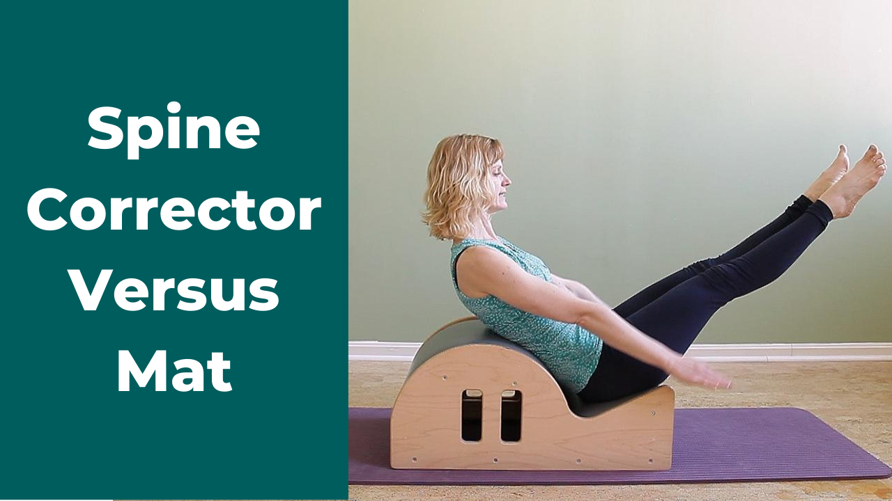 Pilates Stomach Series to increase abdominal strength