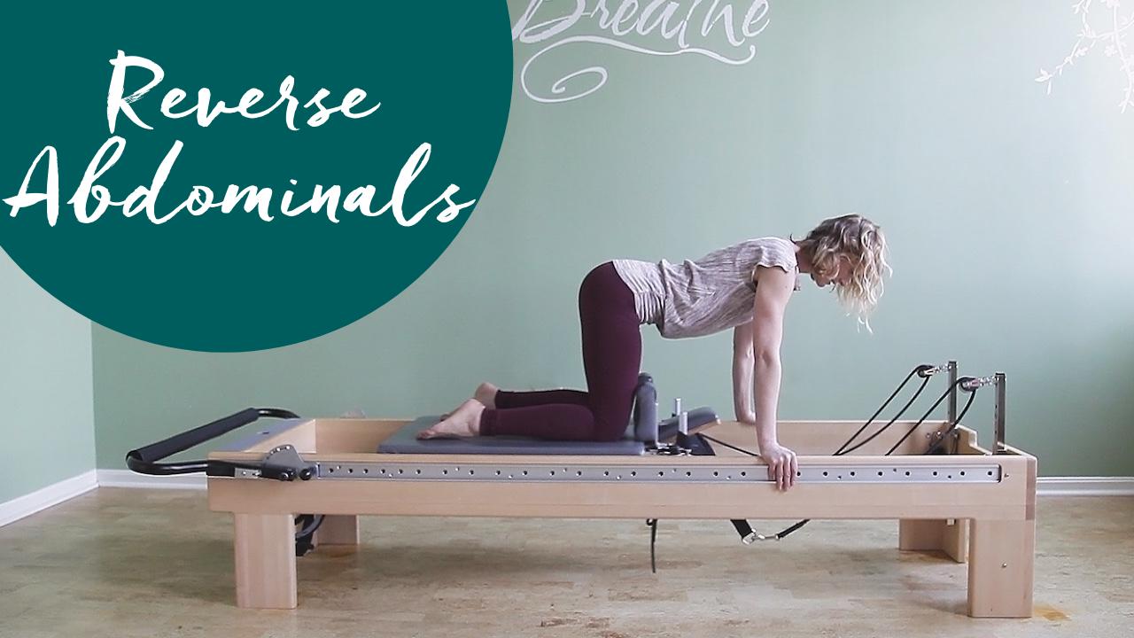 Pilates Exercises to Help Overactive Hip Flexors in Reverse Abdominals