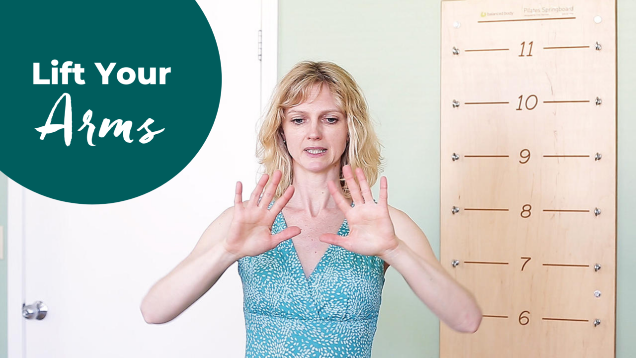 How to Lift Your Arms (Using Scapulohumeral Rhythm) in Pilates