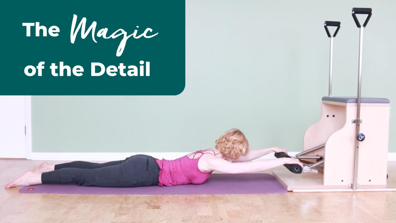 Refine movements in Pilates
