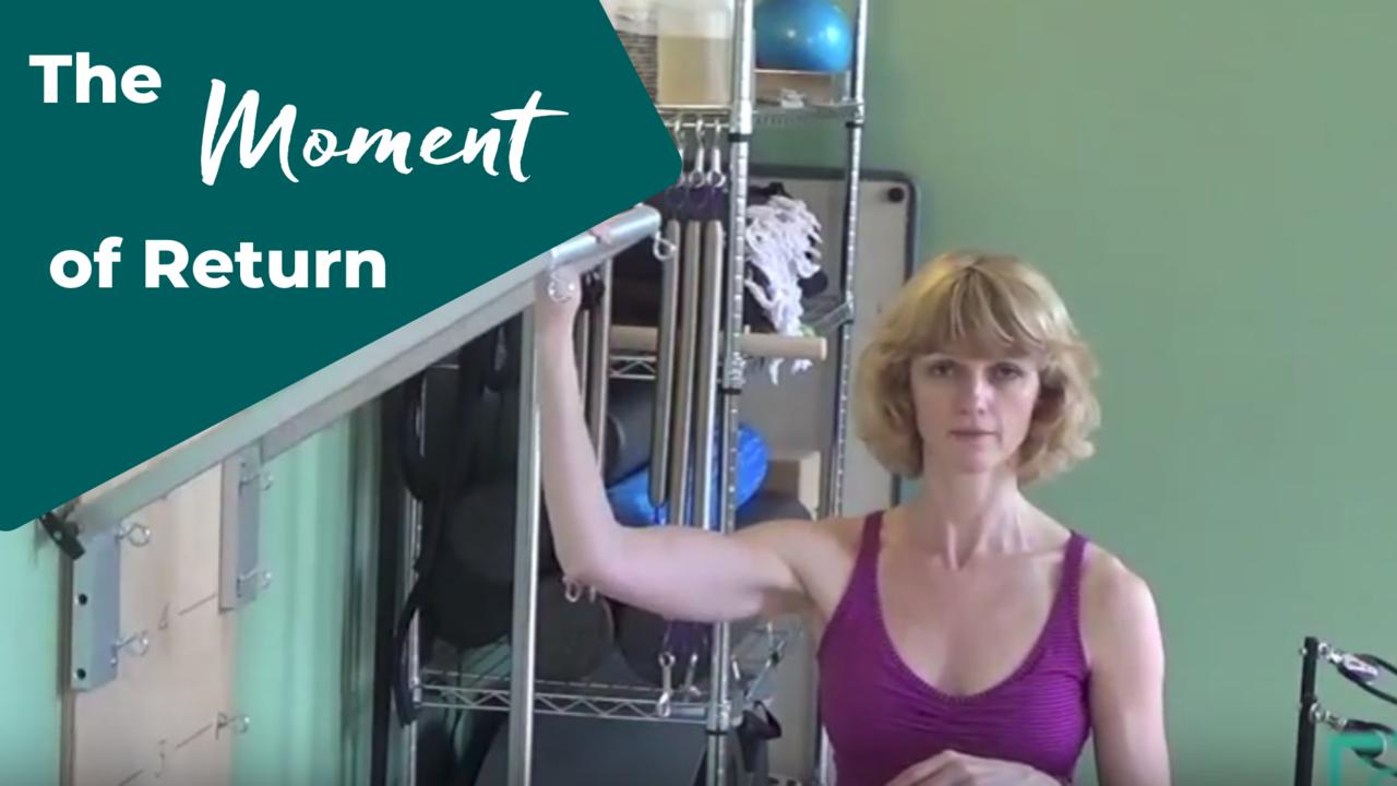 Control movement in Pilates