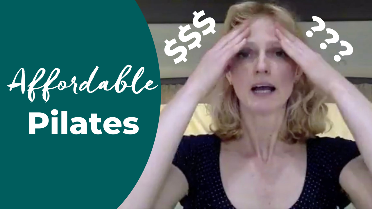 how to make pilates affordable for everyone