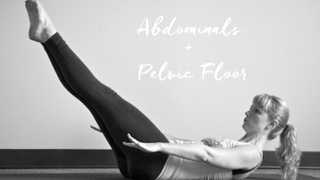 how to cue abdominals and pelvic floor in Pilates