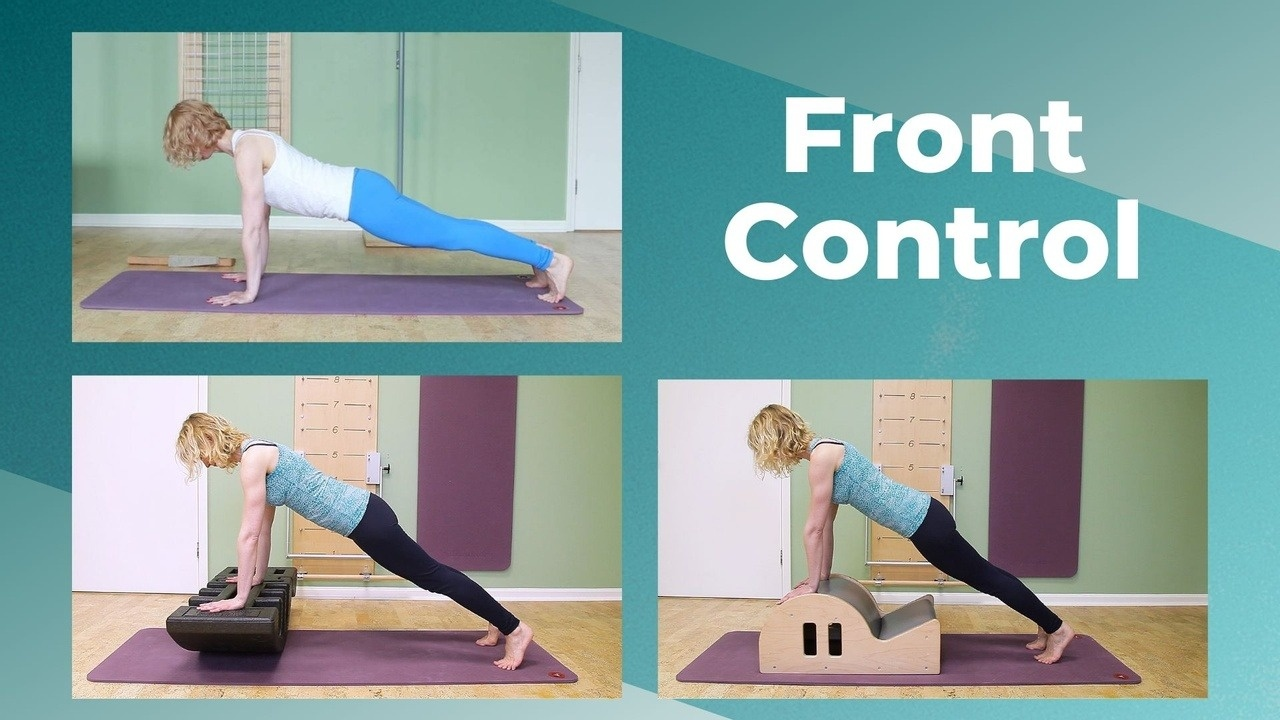 front control pilates plank