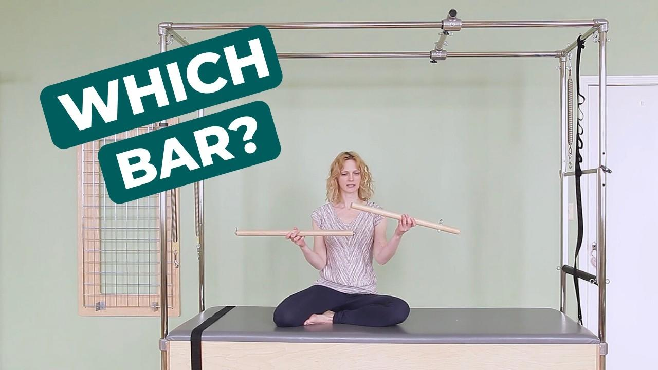 Choose the Best Roll Down Bar for Your Pilates Cadillac