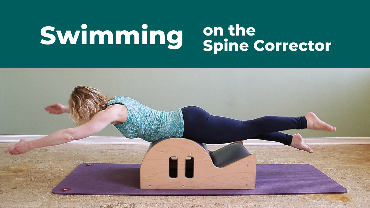Taking the Discomfort out of Swimming on the Pilates Spine Corrector
