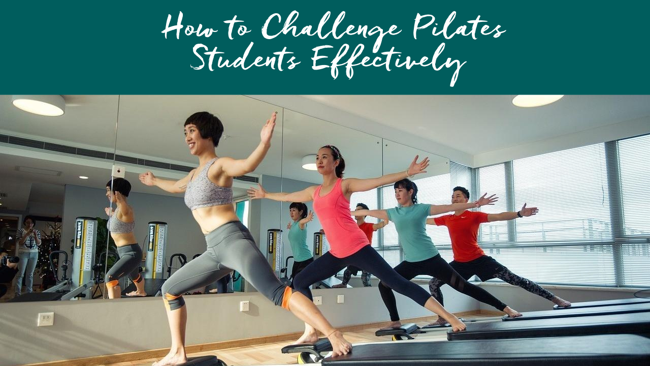 how to teach mixed level pilates classes