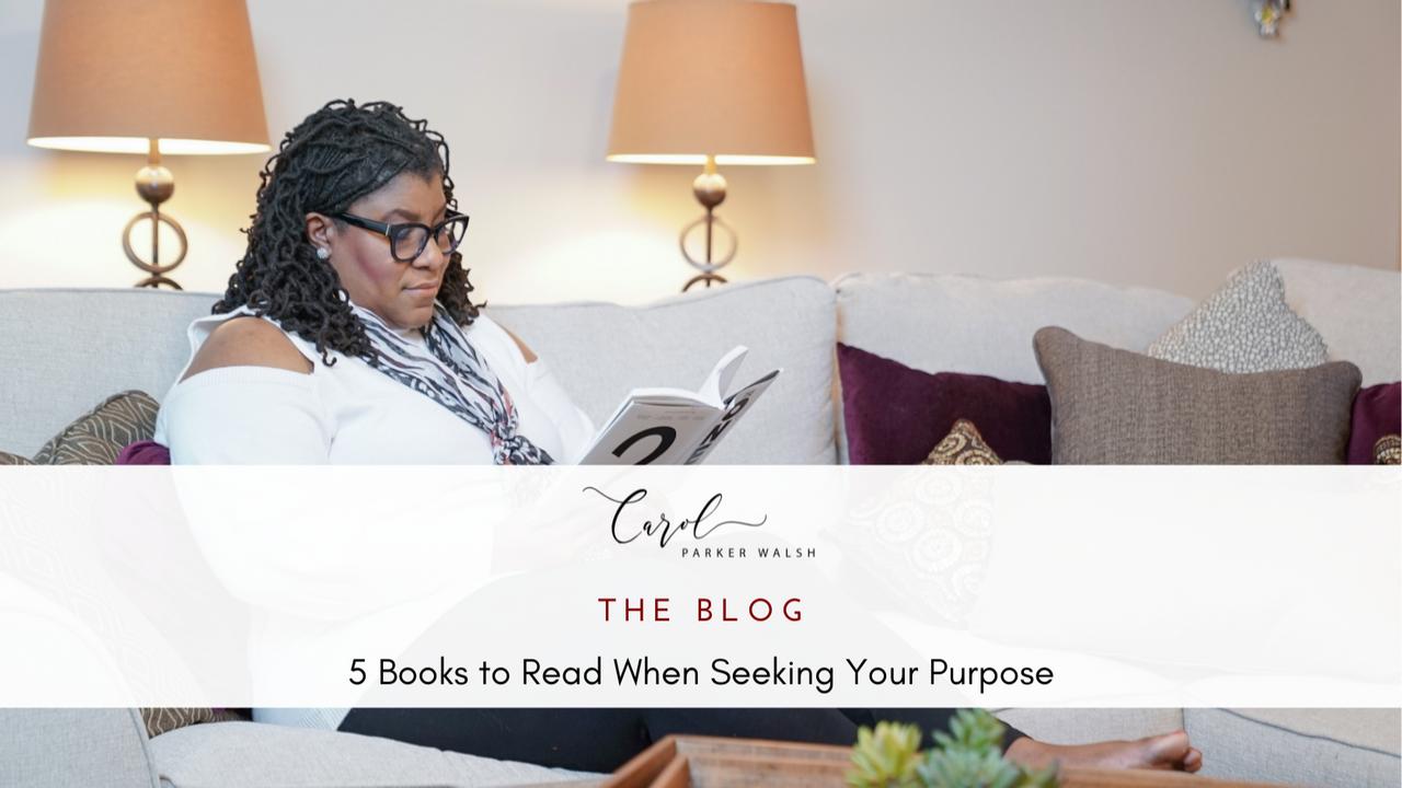 Carol Parker Walsh reading purpose