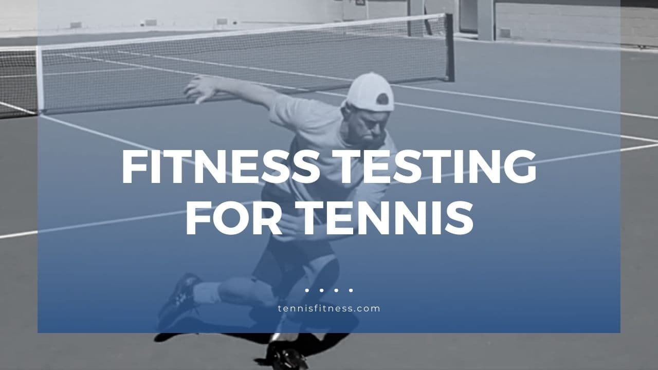 Image of tennis fitness test