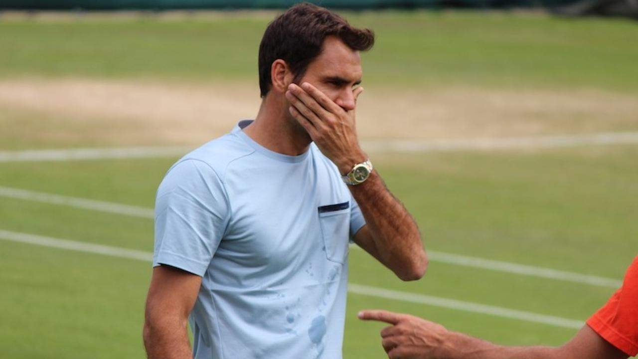Image of roger federer and tennis fitness