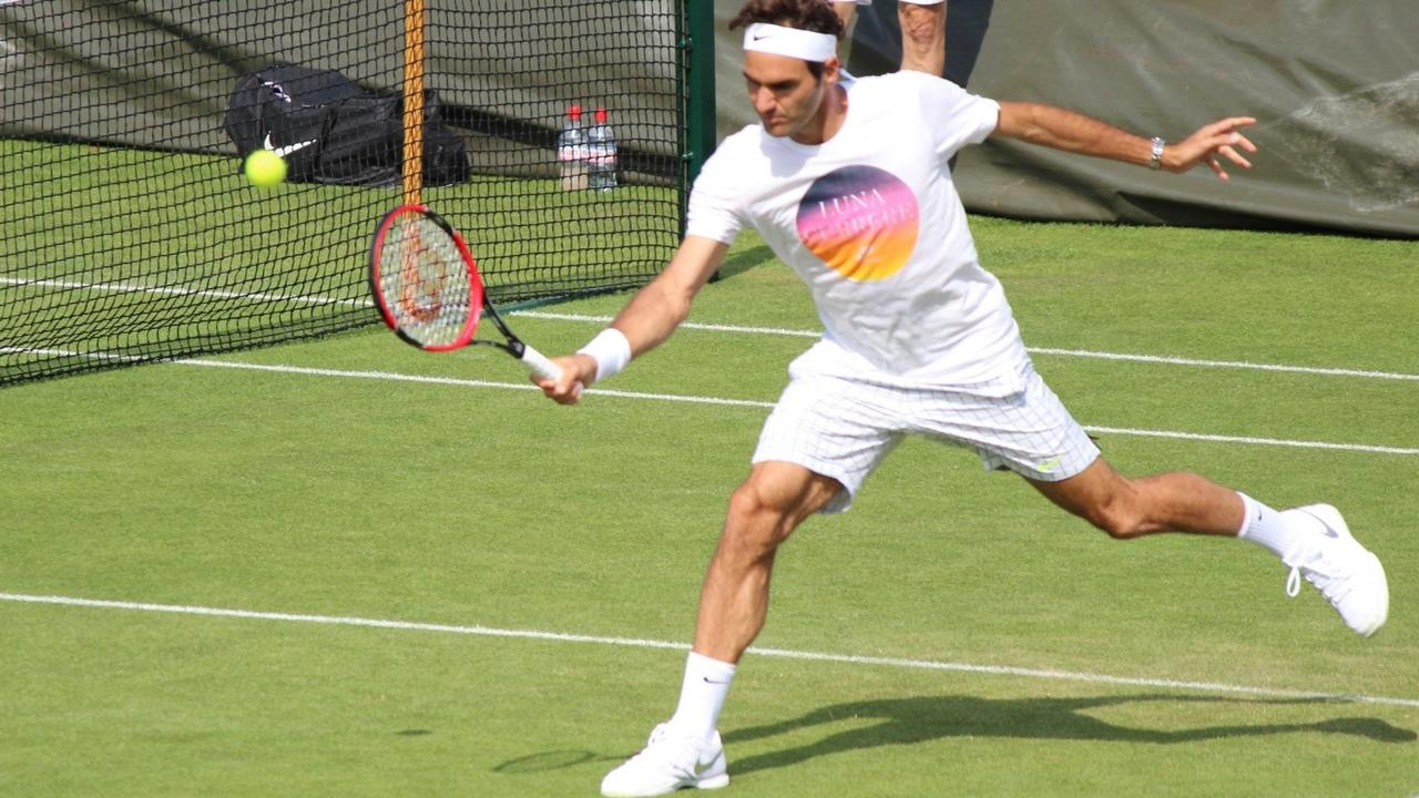 Image of tennis footwork drills