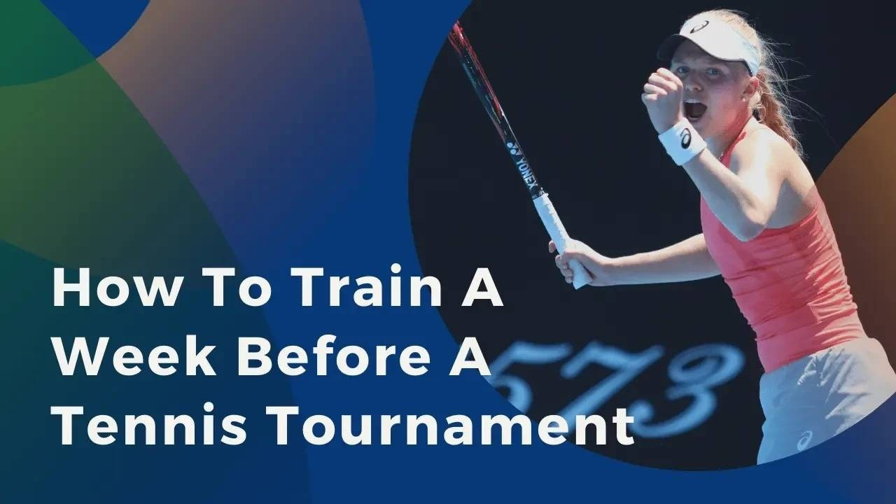 image of training for a tennis tournament