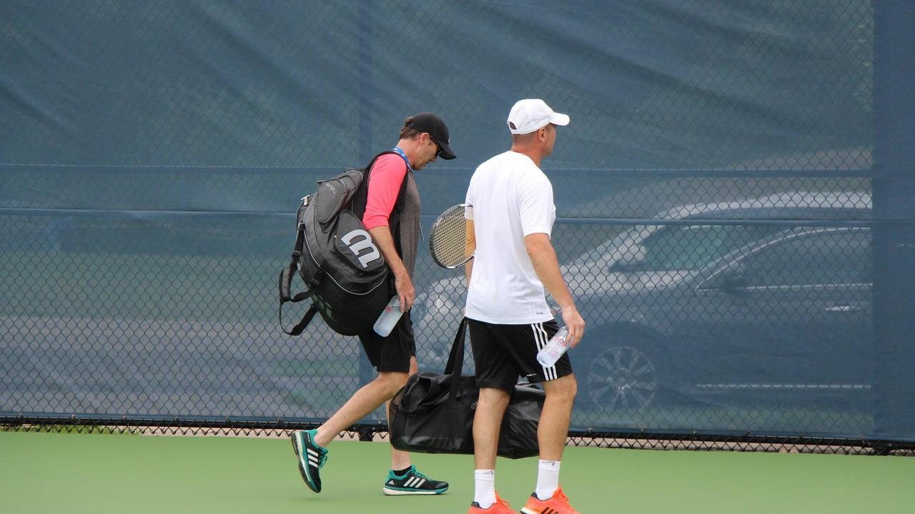 Image of tennis fitness training
