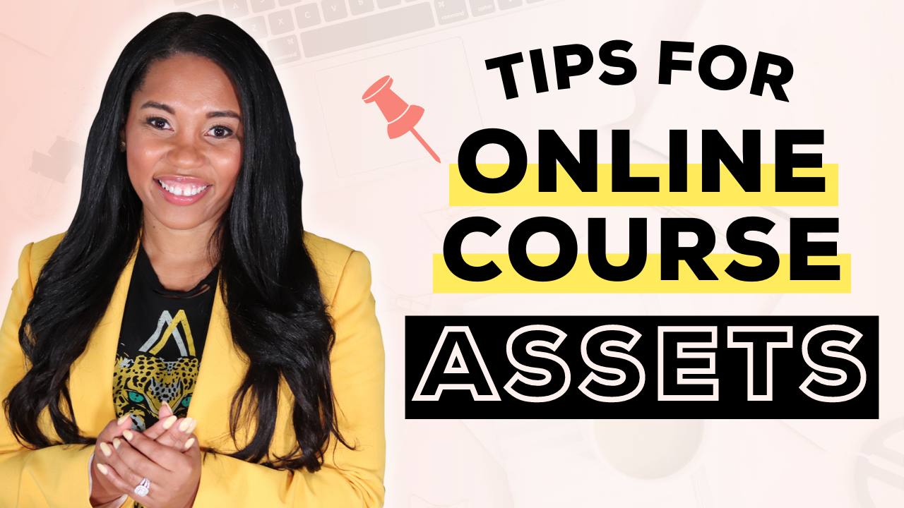 How to Create Online Course Assets Like Nobody's Business
