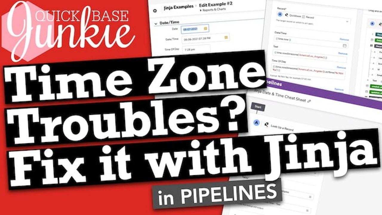 Time Zone Troubles? Fix it with Jinja in Pipelines