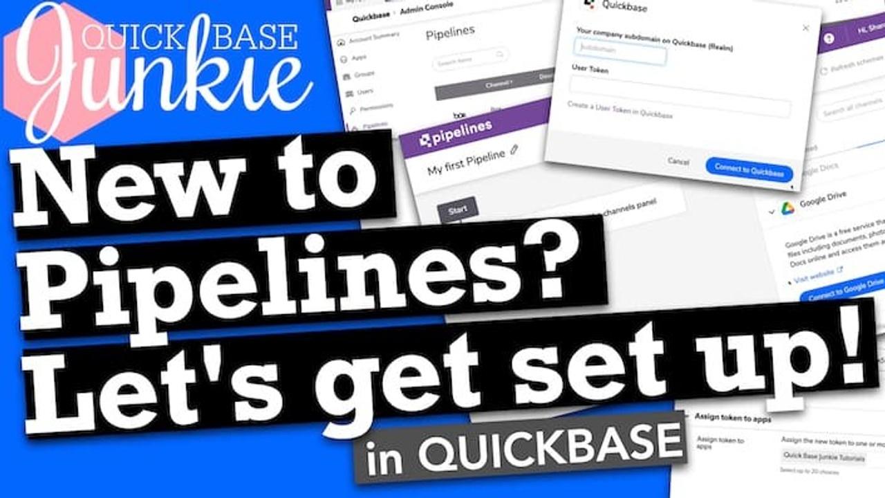 Let's Setup Quickbase Pipelines