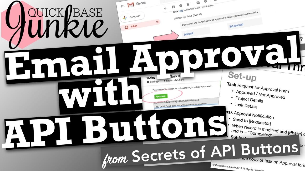 How to create an approval workflow with API Buttons in Quickbase