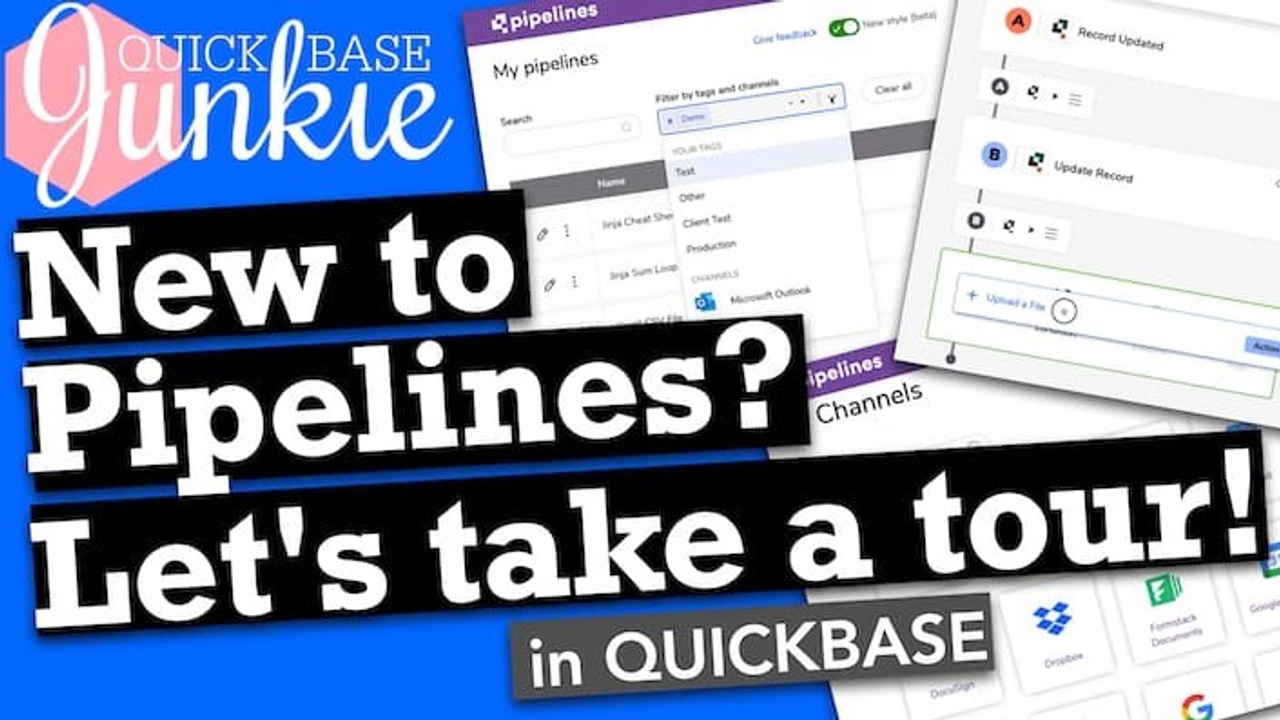 New to Quickbase Pipelines? Let's take a tour!