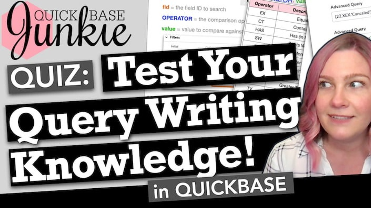 Quiz: Test your query writing knowledge!