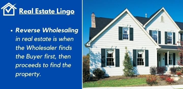 Reverse wholesaling real estate legal Kansas