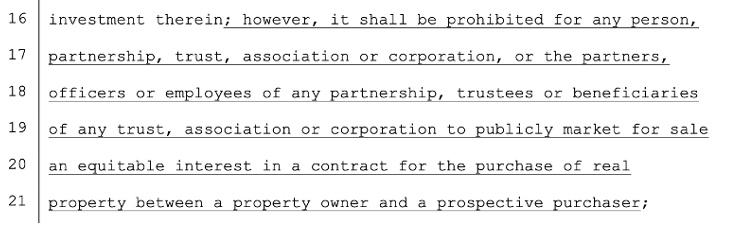 Oklahoma Real Estate License Code