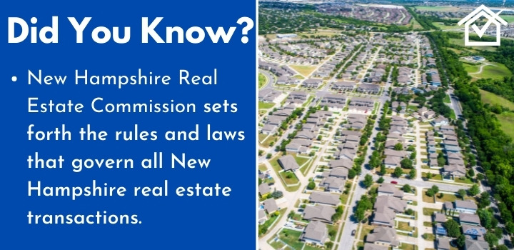 New Hampshire Real Estate Commission wholesaling