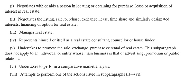 Pennsylvania License for Wholesaling Real Estate