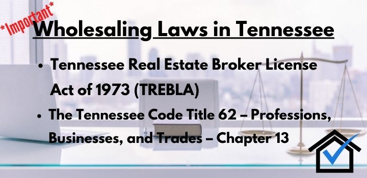 wholesaling laws Tennessee