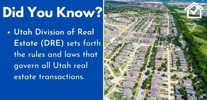 Utah Division of Real Estate wholesaling