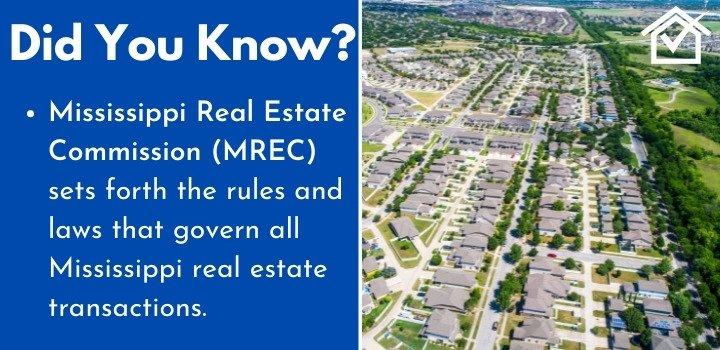 Mississippi Real Estate Commission wholesaling