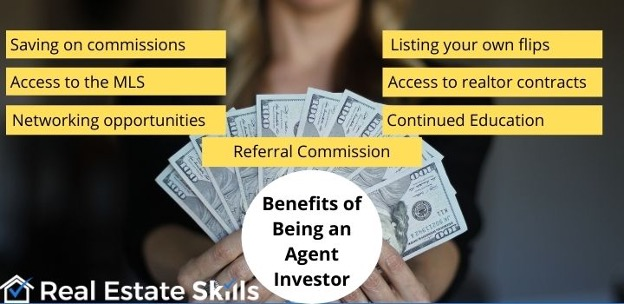 benefits of licensing for real estate investors