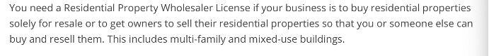 Wholesaling Real Estate License Pennsylvania