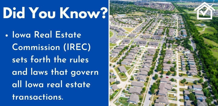 Iowa Real Estate Commission wholesaling