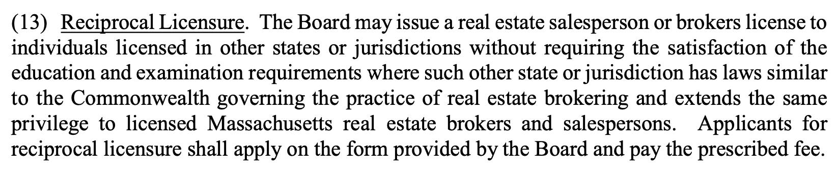 Massachusetts real estate legal advice