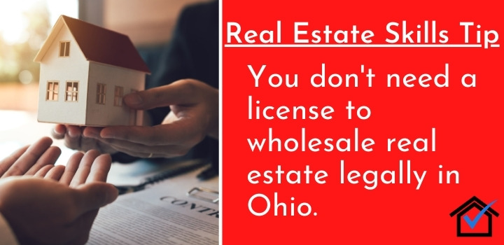 License to Wholesale Real Estate Legally in Ohio