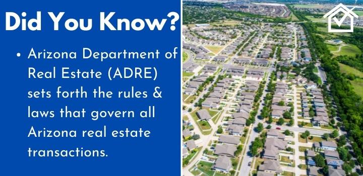 Arizona Department of Real Estate Wholesaling
