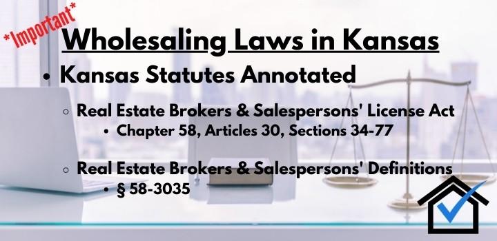 Wholesaling laws Kansas