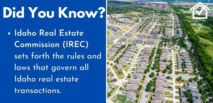 Idaho Real Estate Commission wholesaling