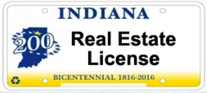 Indiana Real Estate License