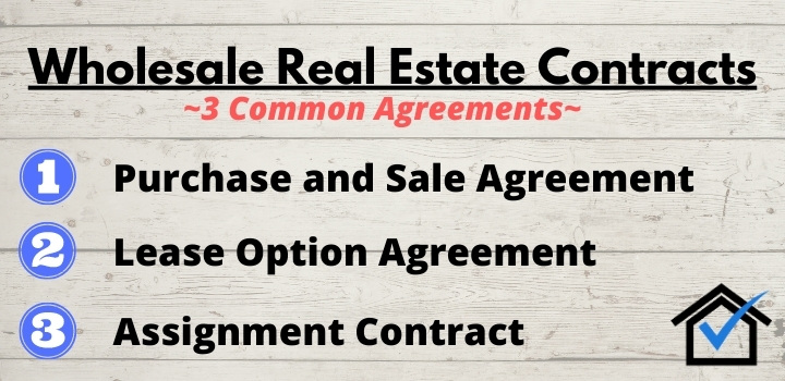 wholesale real estate contracts
