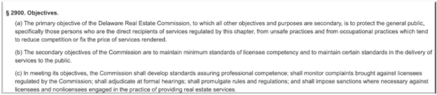 is wholesaling real estate legal in delaware
