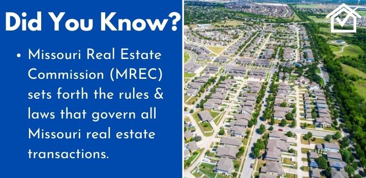 Missouri Real Estate Commision Wholesaling
