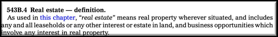 Iowa real estate
