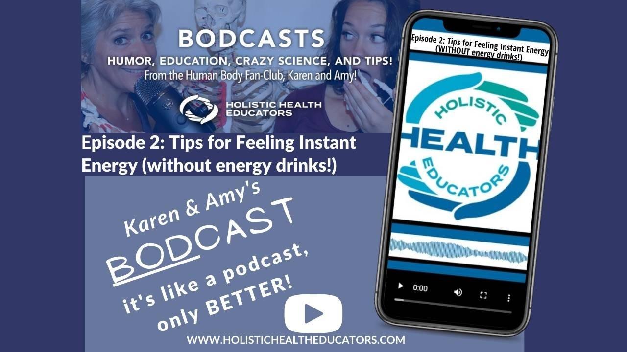 healthy podcast, holistic energy, energy without caffeine, quit caffeine