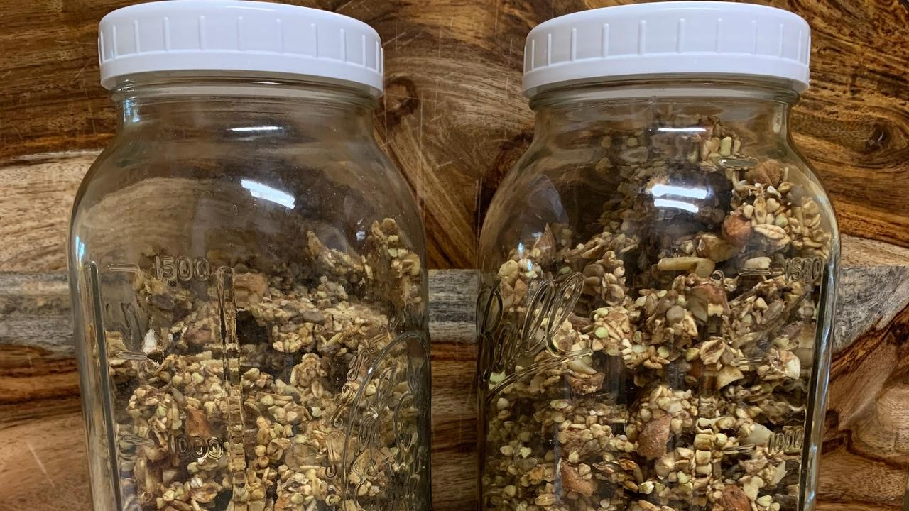 raw granola, sprouting, sprout, sprouting tips