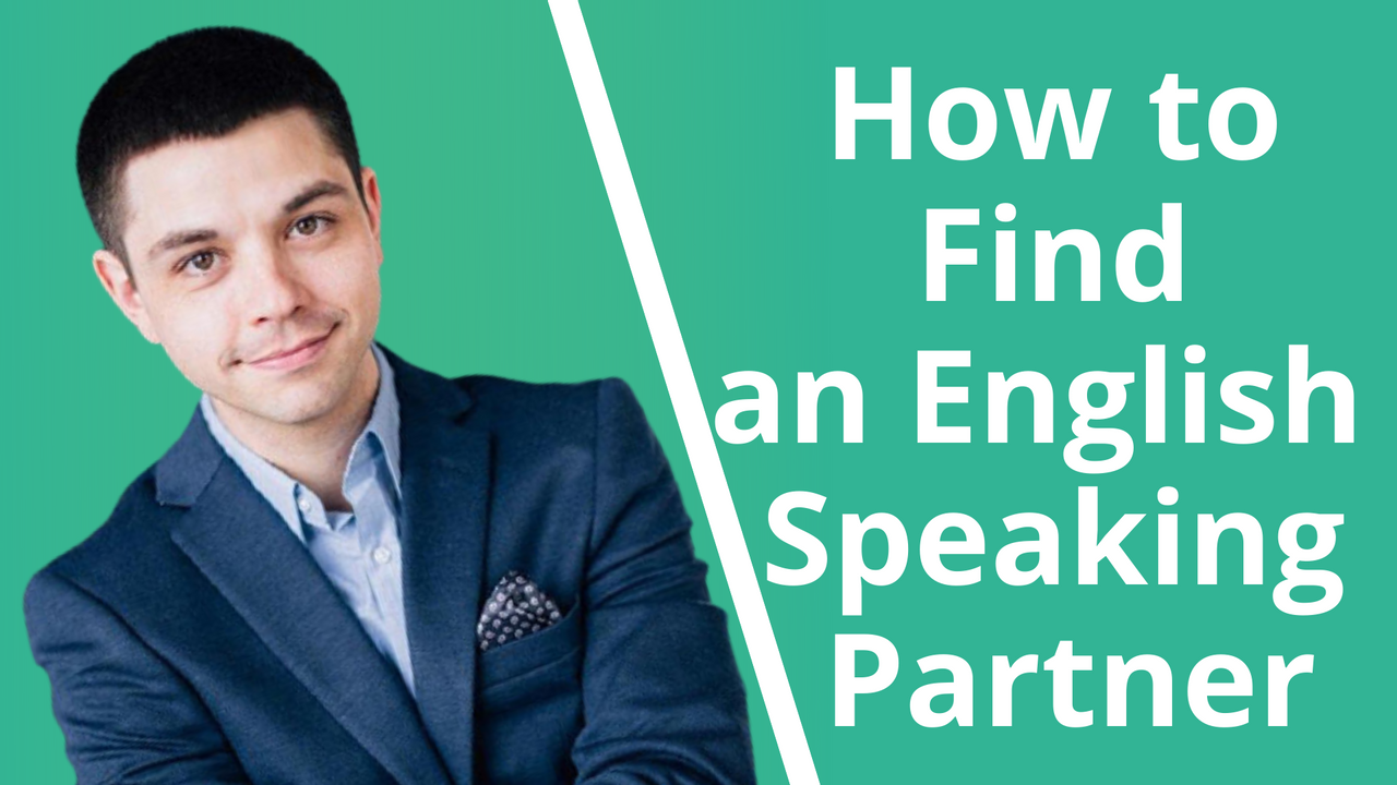 how to find an English online speaking partner
