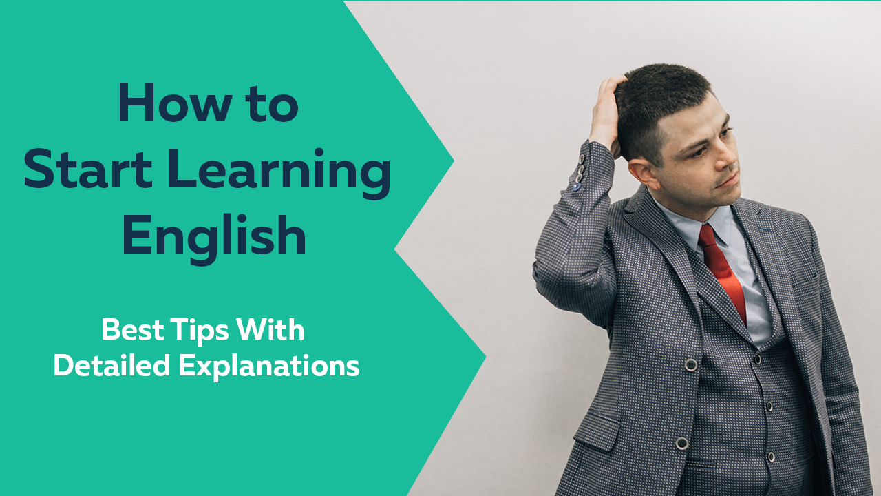 how to start learning english