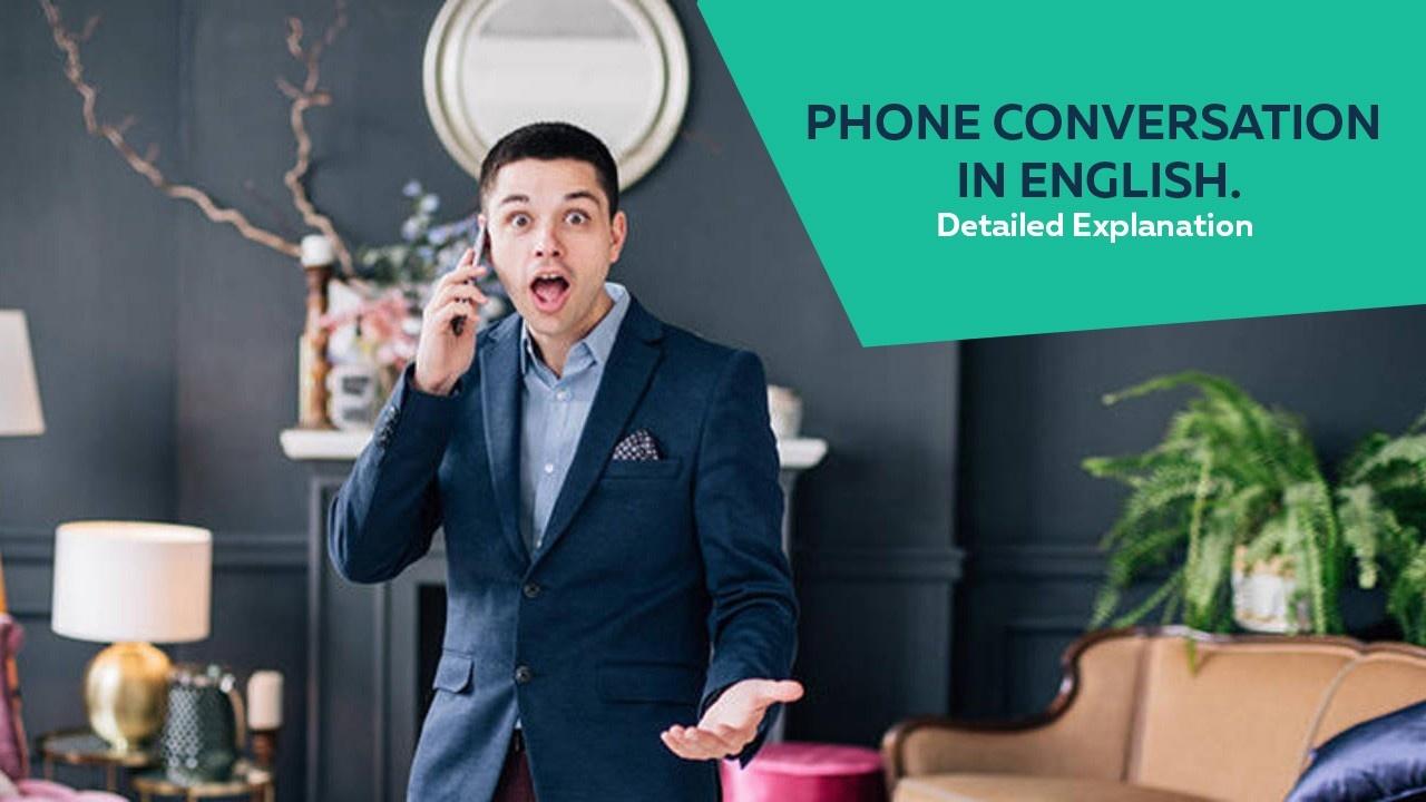 Phone Conversation in English
