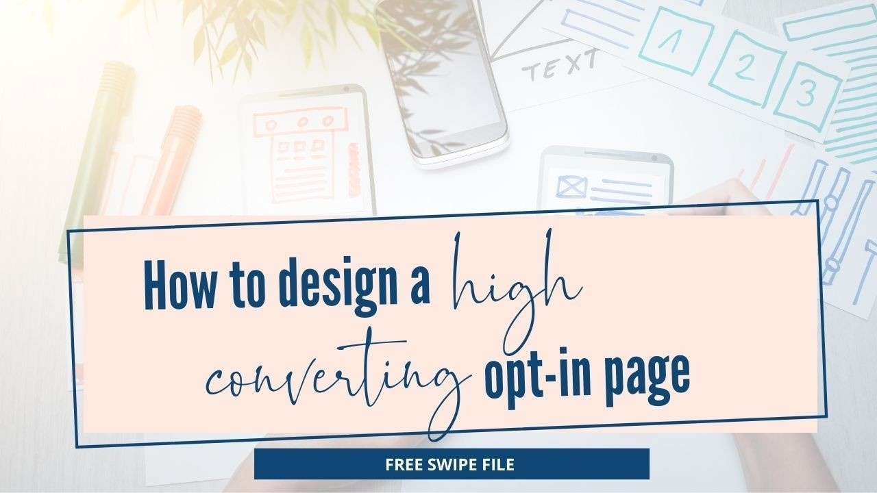 design a high converting landing page