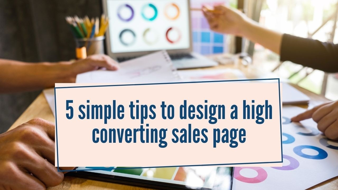 high converting sales page
